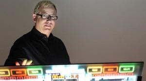 Randal Stout with Emulator Touchscreen DJ System.
